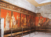 Frescoes from Villa of the Mysteries
