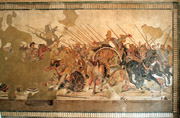 Battle between Daruis and Alexander the Great