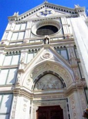The cathedral of Santa Croce