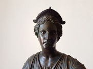 Bronze statue of Diana from Pompeii now in the Archaeological Museum of Naples