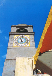 The Bell Tower, the symbol of the Piazzetta (Little Square) of Capri