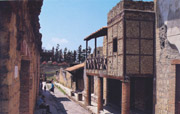 Casa a graticcio in Herculaneum