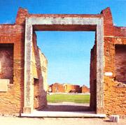 Building of Eumachia: the entrance