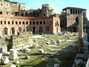 Trajan's Forum - Remains of the Basilica Ulpia
