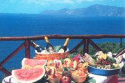 Typical products of Sorrento and Positano
