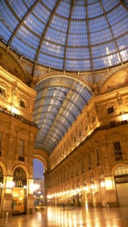 Galleria Vittorio Emanuele II by night