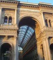 Entrance of the Galleria V. Emanuele II