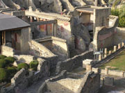 Example of Roman house in Herculaneum