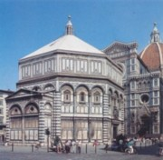 The Baptistery in Florence
