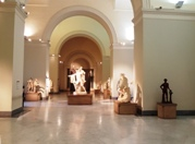 <b>One the exhibit halls at National Archaeological Museum of Naples</b>