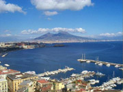 Gulf of Naples with Vesuvius