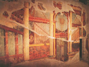 Oplontis-Herculaneum-Pompeii tour with TREDYTOURS: A nice fresco from the villa of Oplontis