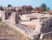 The Hypogeum, the mythical tomb of the founder of Paestum, Is