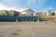 Plebiscito square in Naples