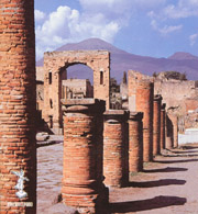 Columns of the Forum of Pompeii