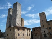 Another view of San Gimignano Towers