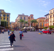 Piazza Tasso, center of Sorrento