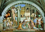 Raphael's rooms - The fire in the Borgo