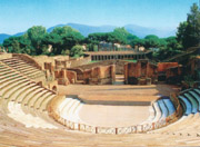 The Large Theatre in Pompeii