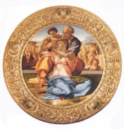 Tondo Doni by Michelangelo