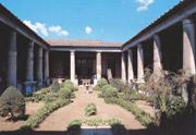 The garden of the Vetti's home in Pompeii