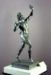 Bronze statue of the Faun