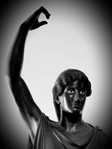 Statue of dancer from the peristyle of Villa of the Papyri</b>