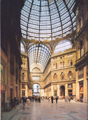 Umberto's Arcade in Naples