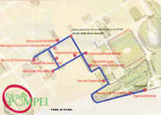 Itinerary of Pompeii with wheelchairs