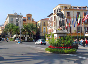 Tasso Square, the centre of Sorrento