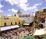 The main square of Capri