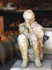 Example of plaster cast