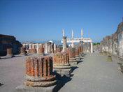 A particular of Pompeii ruins
