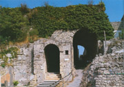 Porta Marina was one of the eight gates of Pompeii