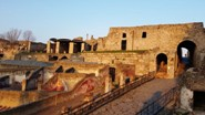 One of the entrances of Pompeii ruins: Porta Marina Superiore