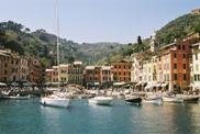Another view of the small Portofino harbour