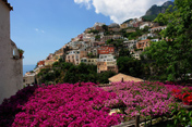 View of the beautiful Positano
