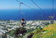 View from the chairlift at Anacapri