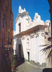 Church of St. Stephen in Capri