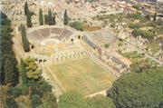 The theatres in Pompeii