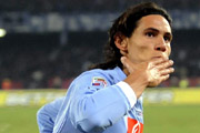 Cavani, the best player of the Naples team during the last seasons