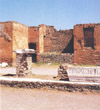 TEMPLE OF THE PUBLIC LARES - POMPEII