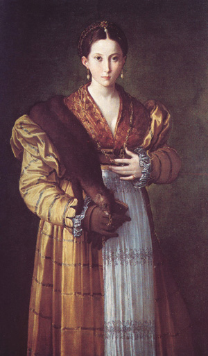 Antea by the painter Parmigianino